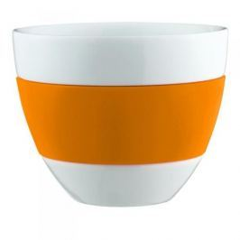 Kubek do kawy porcelanowy KOZIOL AROMA POMARAŃCZOWY 350 ml