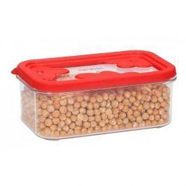 Pojemnik plastikowy na żywność HEREVIN AKRYLOWY CZERWONY 0,6 l