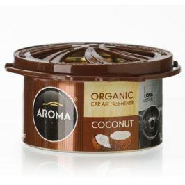 AROMA CAR Odświeżacz powietrza Organic Kokos Coconut + DOSTAWA 24 H // Odbiór osobisty ul. Grochowska 172, ul. Modlińska 237 //