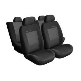 Pokrowce samochodowe miarowe ELEGANCE POPIEL 3 Seat Leon II 2005-2012 - Seat Toledo III