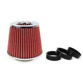 Filtr powietrza stożkowy + 3 adaptery AF-CHROME - Chrome