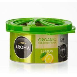 AROMA CAR Odświeżacz powietrza Organic Cytryna Lemon + DOSTAWA 24H // Odbiór osobisty WARSZAWA ul. Grochowska 172, ul. Modlińska 237 //