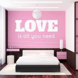 szablon malarski 02X 18 love is all you need 1723