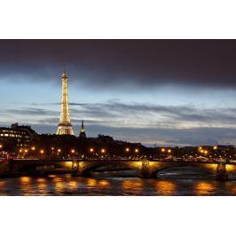 Fototapeta na ścianę miasto Paryż nocą FP 5037