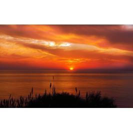 Obraz zachodzące słońce nad morzem FP 1561 P