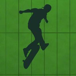 szablon malarski skater 1019