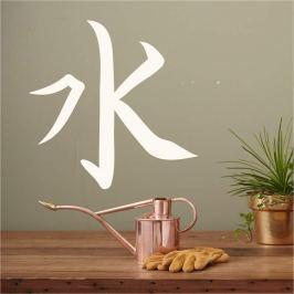 szablon malarski symbol  japoński woda 2175