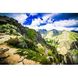Obraz zaskakująca kolorystyka gór FP 1884 P