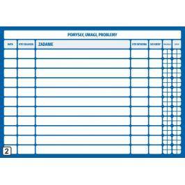 Tablica planowania suchościeralna lean 108