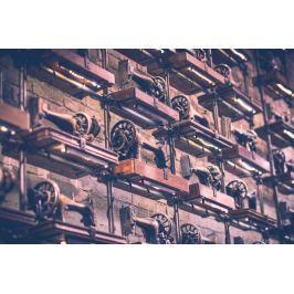 Fototapeta na ścianę stare maszyny do szycia FP 4324