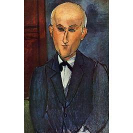Reprodukcja Max Jacob, Amedeo Modigliani