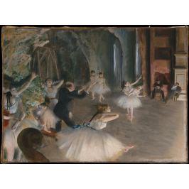 Reprodukcja The Rehearsal Onstage, Edgar Degas