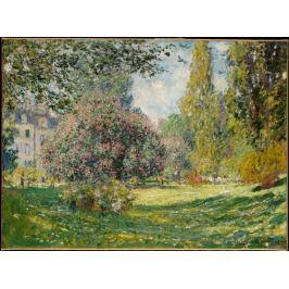Reprodukcja Landscape The Parc Monceau, Claude Monet