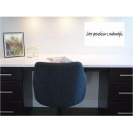 tablica suchościeralna, samoprzylepna biała w formacie 40x30