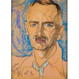 Reprodukcja Portret Mieczysława Gajewicza, Stanisław Ignacy Witkiewicz, Witkacy