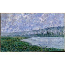 Reprodukcja The Seine at Vetheui, Claude Monet