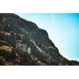 Fototapeta na ścianę zamek pośród gór FP 5550