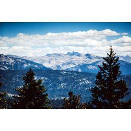 Fototapeta na ścianę widok na odległe góry FP 1388