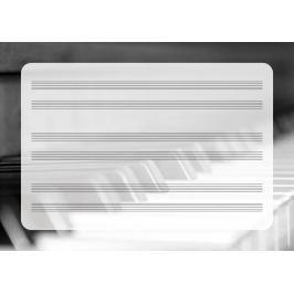 pięciolinia suchościeralna tablica pianino EDU 042