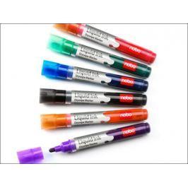 markery kolorowe do flipchartów 6szt