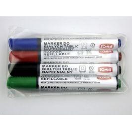 Komplet mazaków/markerów  suchościeralnych