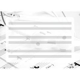 pięciolinia suchościeralna tablica słuchawki EDU 041