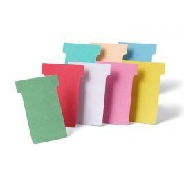 karteczki T-card różne kolory- rozmiar 2