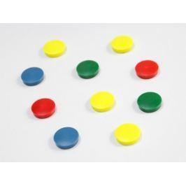 magnesy kolorowe 10 szt. różne rozmiary