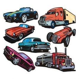 zestaw naklejek pojazdy 1