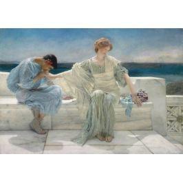 Reprodukcja Ask Me No More, Lawrence Alma-Tadema