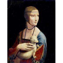 Reprodukcja The Lady with an Ermine, Dama z Gronostajem, Leonardo da Vinci