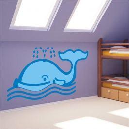 naklejka wieloryb 0972