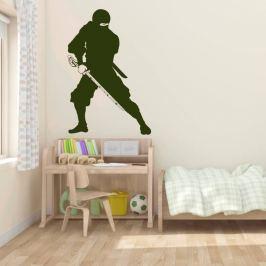 naklejka na ścianę wojownik ninja 2103