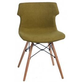 Krzesło Techno DSW tapicerowane (zielone) D2