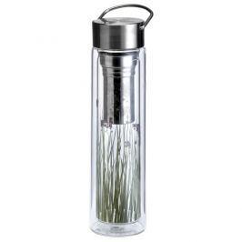 Butelka szklana 350 ml na herbatę z pokrowcem Eigenart Łąka EA-3438911