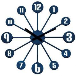 Zegar ścienny 24 cm Koziol PINBALL kobaltowy KZ-2341585