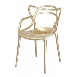 Krzesło Luxo (złote) KingHome