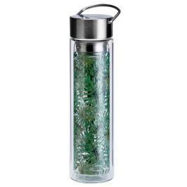 Butelka szklana 350 ml na herbatę z pokrowcem Eigenart Dżungla EA-3561411