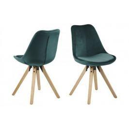 Krzesło Dima VIC (zielone) Actona