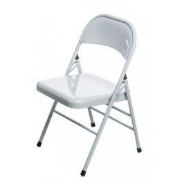 Krzesło składane Cotis White (białe) D2
