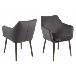 Krzesło Nora VIC (ciemnoszare) Actona