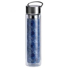 Butelka szklana 350 ml na herbatę z pokrowcem Eigenart Indigo EA-3631411
