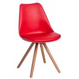 Krzesło Norden Star PP (czerwone) D2
