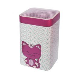 Puszka na herbatę 100 g Eigenart Kitty ciemny róż EA-3608612