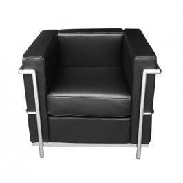 Fotel Soft LC2 (czarny) KingHome